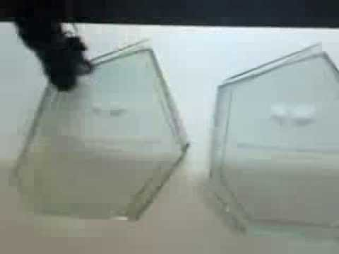 Grabado laser en vidrio