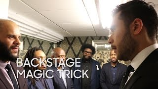 Backstage Magic Trick: Dan White Returns Again (with The Roots)