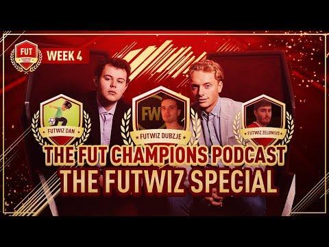 'FIFA eWorld Cup In BARCELONA' The FUT Champions Podcast W/ FUTWIZ #4
