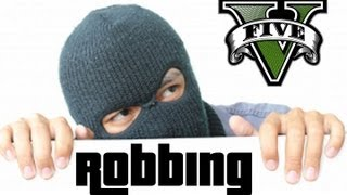 ★ GTA 5 Robbing Houses?! GTA5 Talk Ep. 10