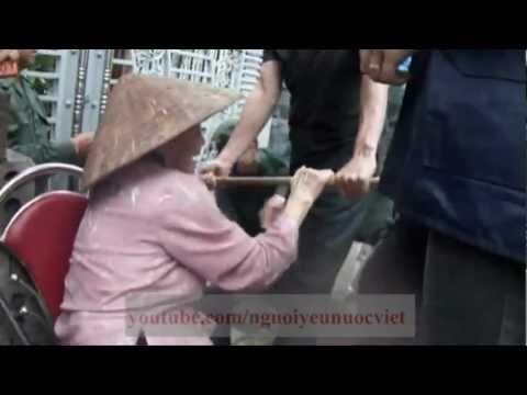 Bà Mẹ Liệt Sĩ Việt Nam Anh Hùng bị cưỡng chế nhà thật dã man