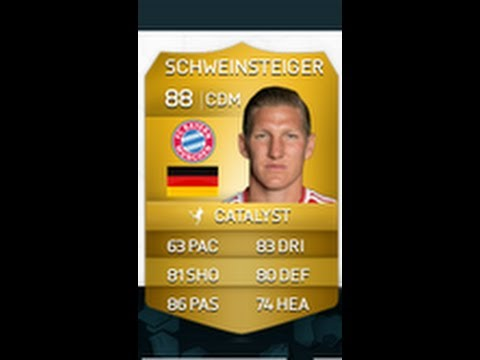 Fifa 14 ultimate team: Bastian Schweinsteiger player review plus gameplay