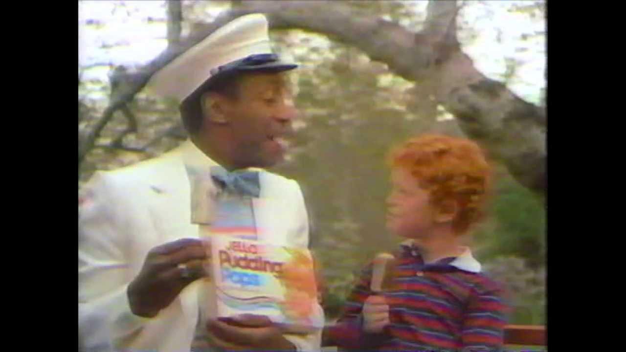 Bill Cosby - Jello Chocolate and Vanilla Swirl Pudding Pops Commercial ...