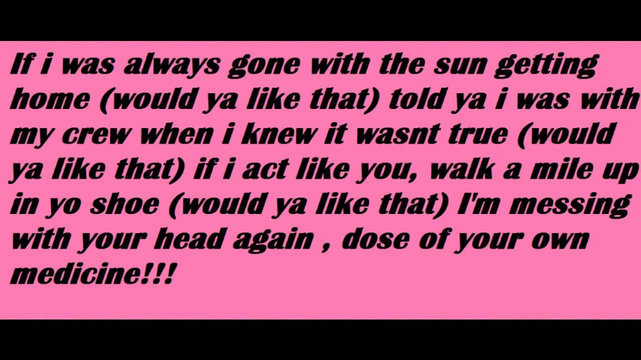 like boy lyric: