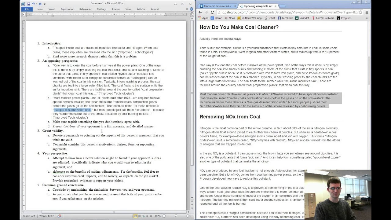 "writing an argumentative essay youtube The minimal five-part structure of a good argumentative essay writing the introduction writing the conclusion the essay: ""should teachers be allowed to ban laptops in classrooms."