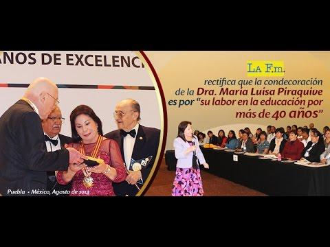 Vicky Dávila rectifica información sobre la Dra. María Luisa Piraquive