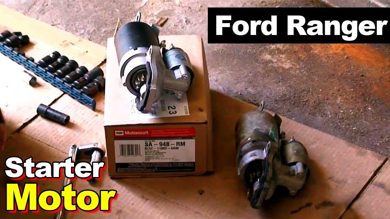 ford ranger starter solenoid location  ford  free engine