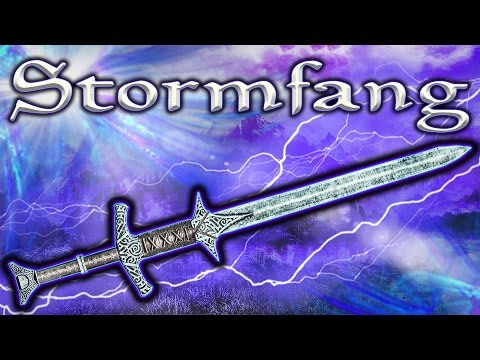Skyrim SE - Stormfang - Unique Weapon Guide