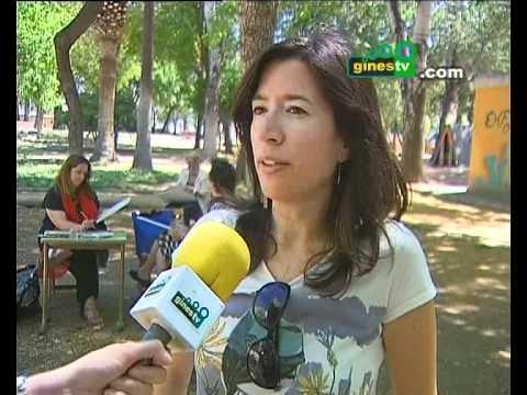 """El Parque municipal de Gines acogió una jornada de """"Pintura al Aire libre"""""""
