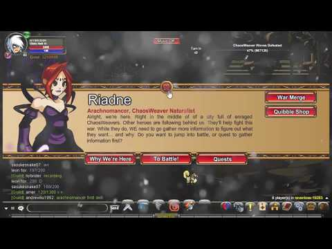 AQWorlds Fastest & Most Efficient Way To Farm Ravenloss Reputation & War Merge Items