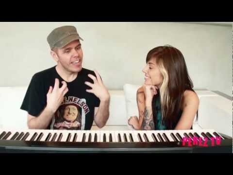 Christina Perri interviewed by Perez Hilton