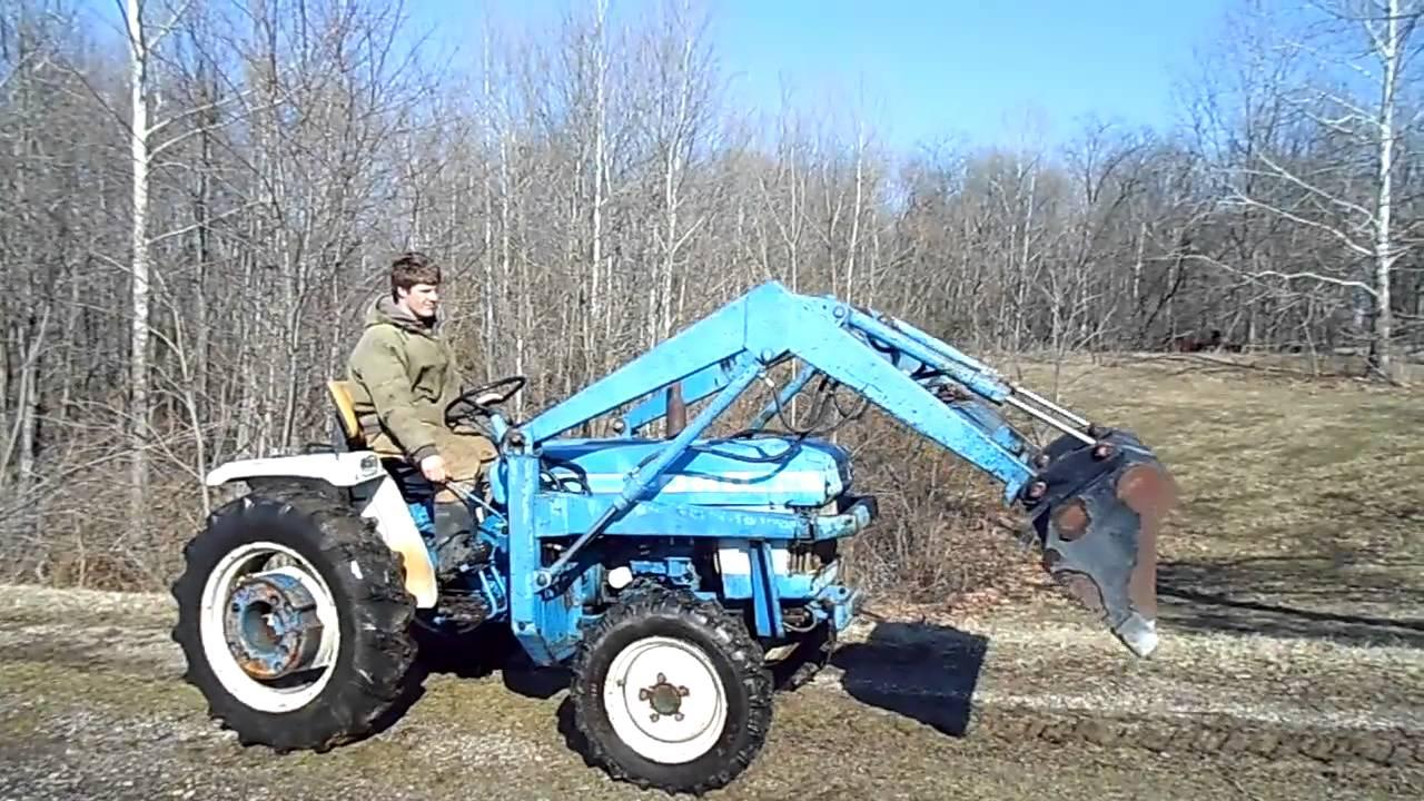 Ford 1710 Loader : Loader for ford tractor