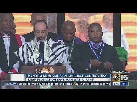 Mandela memorial sign language controversy