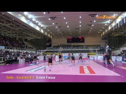 Copertina video Delta - Soverato 3-0 (semifinali playoff, gara-2)