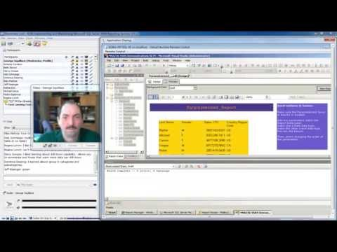 SQL Server 2008 Reporting Services: Parametrization