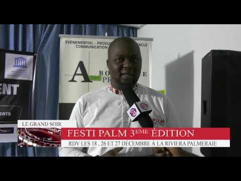 Conférence de presse de lancement du FESTIPALM 3ème EDITION au siège de l'UNESCO ABIDJAN