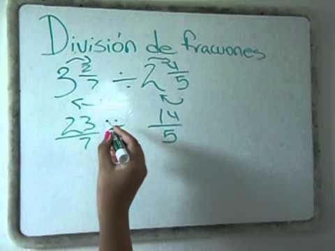 Division y multiplicacion de fracciones mixtas