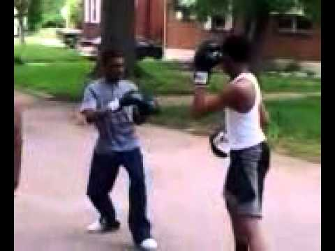 Dudes in Boxing Gloves, Round 3