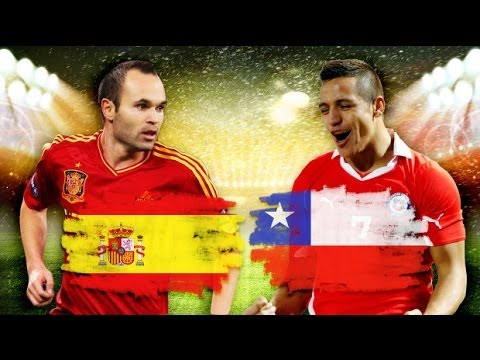 FIFA WORLD CUP 2014 - UNBOXINGOWY MUNDIAL - HISZPANIA vs CHILE