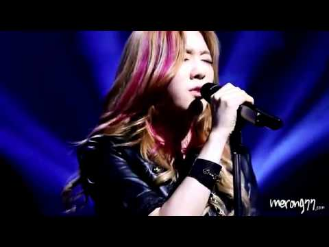 [Fancam] 120529 SNSD - Taeyeon - Take A Bow @ Sketchbook Recording