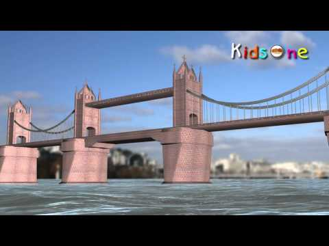 London Bridge is Falling Down - Nursery Rhymes - English Animated Rhymes -3VrFjmjDspQ