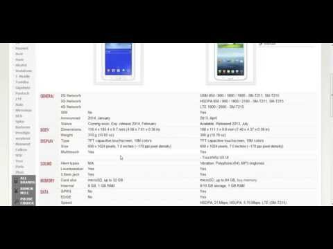 Samsung Galaxy Tab 3 Lite 7.0 e Samsung Galaxy Tab 3 - Analise e especificações - PT-BR - Brasil