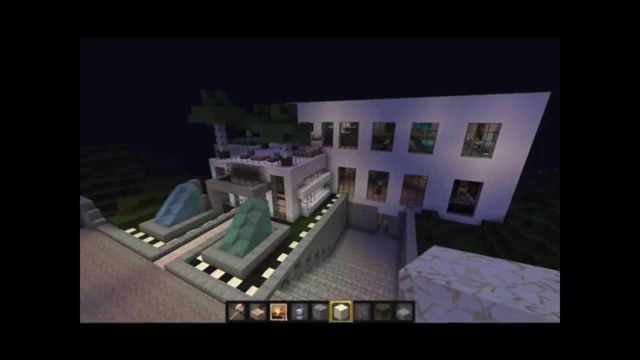 Minecraft haus bau ideen teil 1 youtube