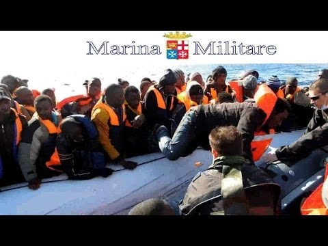 Over 1,100 migrants rescued off Italy in one day