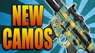 Call Of Duty: Ghosts New Camos! Space Cats, Ducky