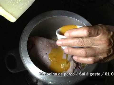 Dica de Culinária: Confira como preparar um delicioso joelho de porco