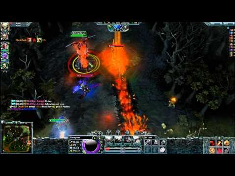 Heroes of Newerth - Dampeer Gameplay