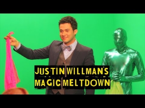 GREEN SCREEN MAGIC - Justin Willman's Magic Meltdown