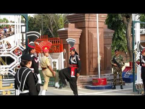 India Pakistan Wagah Border Closing Ceremony 10  (Pakistan Side)