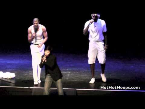 Battioke 2014 - Shane Battier, Greg Oden, and Ken Jeong sing