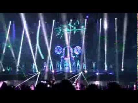 Jay Chou - Opus World Tour 2013 Live in Jakarta 12th October 2013 Opening