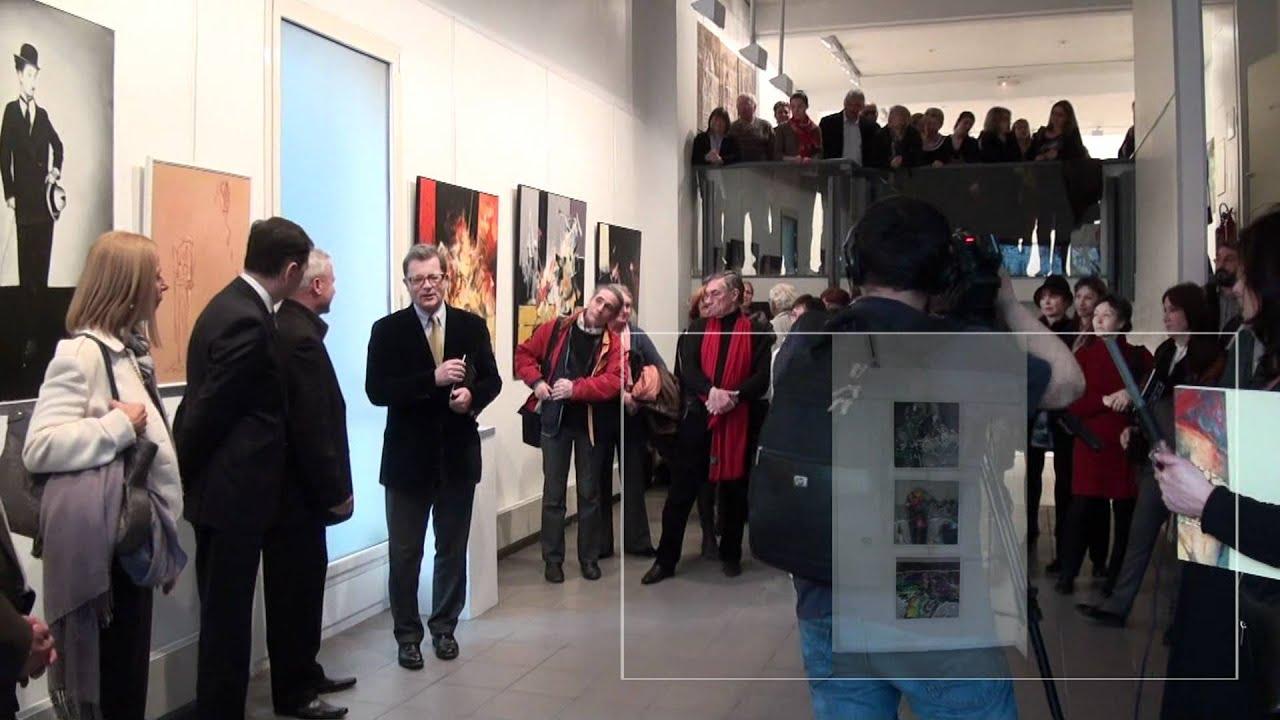 Salon de peinture roumanie contemporaine paris cit internationale des arts youtube - Salon des arts creatifs paris ...