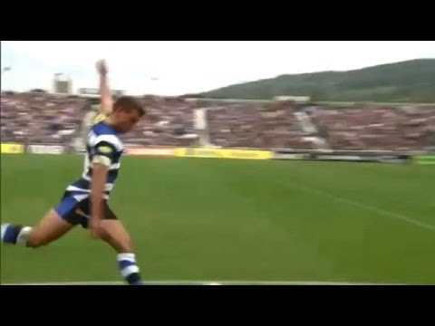 George Ford's trick kick - Bath vs London Irish | Premiership Video Highlights - George Ford's trick