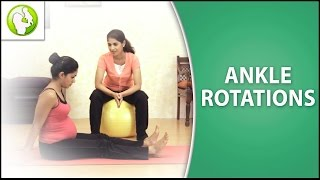 Pregnancy Exercise For Swollen Feet & Ankles