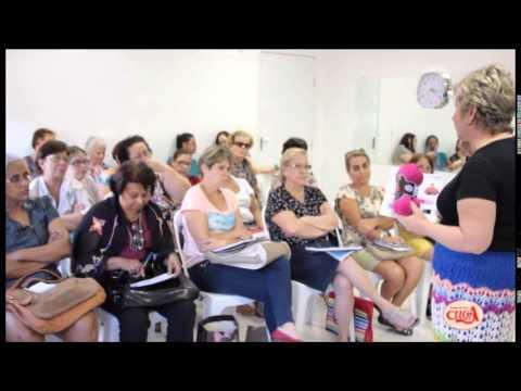 Vitória Quintal faz demonstração das linhas e lãs Coats Corrente - parte 2