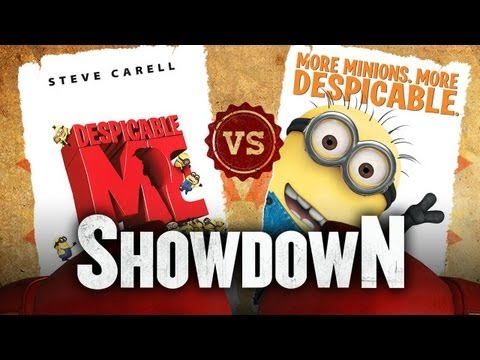 Despicable Me vs. Despicable Me 2 - Which