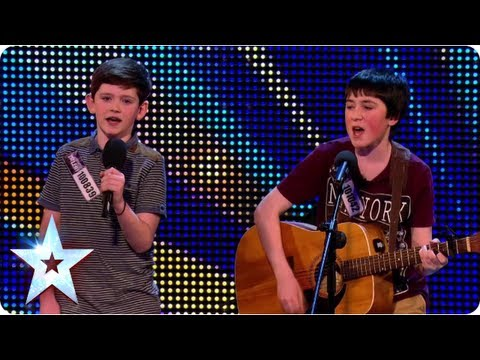 Introducing Jack and Cormac: Little Talks big talent | Britain's Got Talent 2013