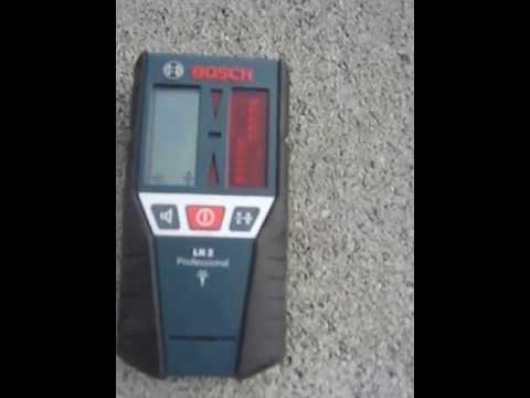 Bosch LR2 - Sonde pour laser, pr?sentation des fonctions