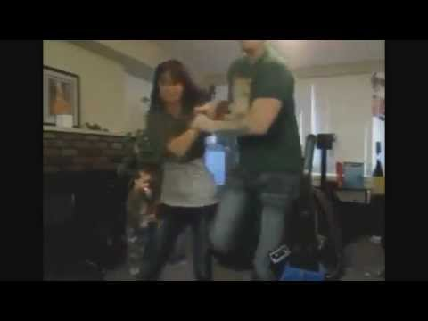 Husband punches wife on face in front of his kids - YouTube