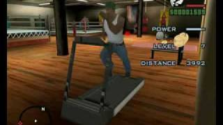 GTA San Andreas, Sex, Beating, Workout Max Stamina, Max