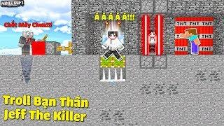 THỬ TH�CH TROLL BẠN THÂN JEFF THE KILLER BẰNG 5 C�CH �ƠN GIẢN TRONG MCPE   Thử Thách SlenderMan