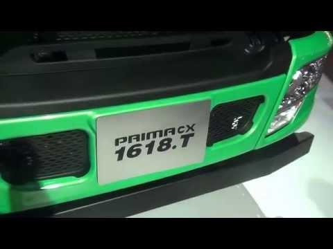 Tata Prima CX 1618. T Truck at 12th Auto Expo 2014 The Motor Show Greater Noida