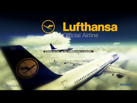 FSX 2013 - Lufthansa Virtual Airlines official [HD]
