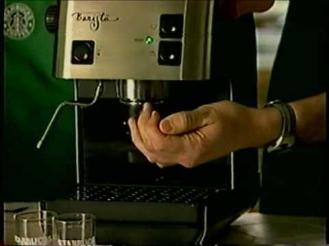 Starbucks Barista home espresso machine - Part 1 - YouTube