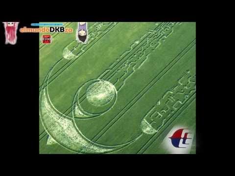 APARECEN EN CAMPOS DE TRIGO LOGOTIPO DEL VUELO MH370 MALAYSIA AIRLINES | elmundoDKBza