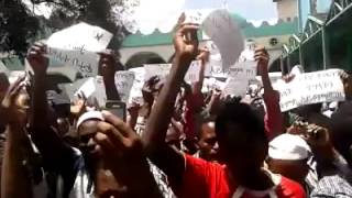 #7  Ethio Muslim Peaceful Demonstration On Apr/11/2014 at Addis Ababa Anwar Masjid